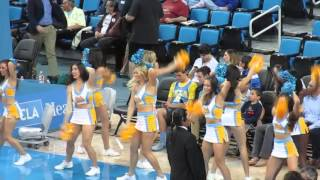 UCLA Cheer Fight Song MBBall Vs oregon State 2015