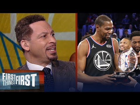 Chris Broussard says KD's All-Star MVP doesn't enhance his legacy | NBA | FIRST THINGS FIRST
