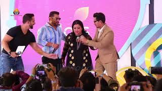 Salman Khan LIVE INSIDE Full Masti With Comedian Bharti BIGG BOSS 12 LAUNCH GOA ! BIG BOSS 12