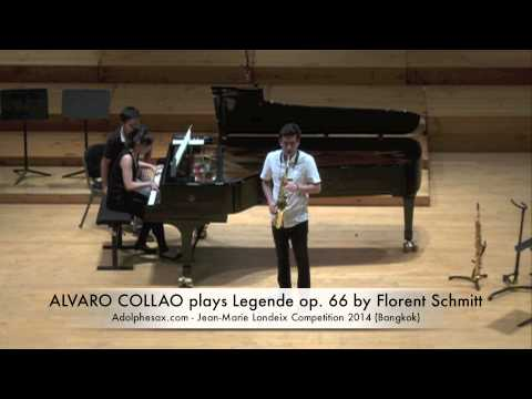 ALVARO COLLAO plays Legende op 66 by Florent Schmitt