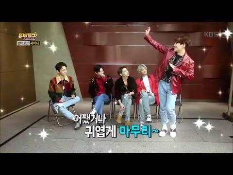 뮤비뱅크 스타더스트2 - 컴백토크 - 샤이니의 9년의 역사를 포인트 안무로 되짚어보자!.20161019