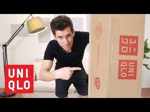 Uniqlo MASSIVE Haul and Try-On | Jeans, Chinos, Shirts, Sweaters, Outerwear