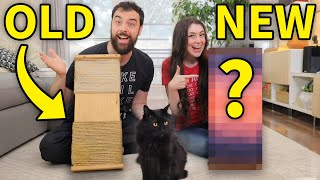 DIY Retry: Remaking our first cat scratching post