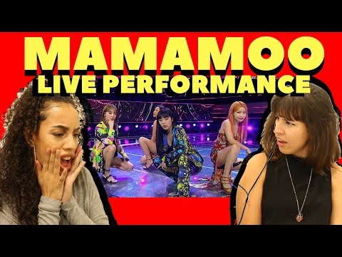 BRITISH PEOPLE REACT TO MAMAMOO - EGOTISTIC (LIVE PERFORMANCE)