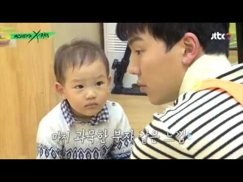 Cutest moments of Monsta X playing with kids at the day care (Monsta X Ray Ep 5)