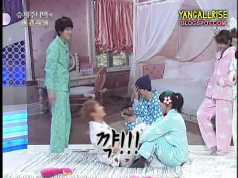 110209 Leeteuk's Secret Garden Acting Cut (Evil KyuHyuk)