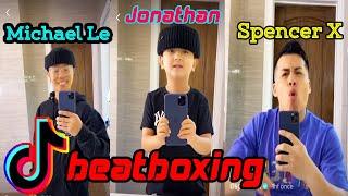 Fuuny Spancer X Beatboxing Challenge Best Tiktok  Videos Michel Le & Jonathan 'Mini Mike'  2020