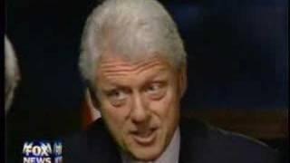 Chris Wallace Interviews Bill Clinton Part 1