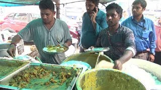 Bengali Cheap Lunch Meals @ 27 Rs | Economic Veg Thali | Indian Street Food Kolkata