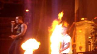 Avenged Sevenfold God Hates Us Live @ Uproar Festival Columbus OH 8 24 2010