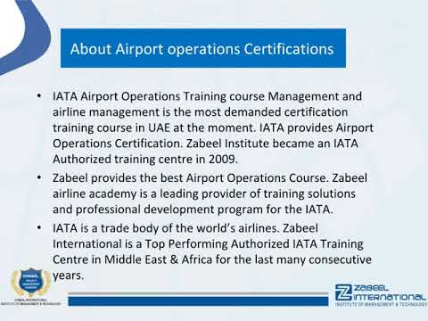 What is an airport operations agent? Airport Operations