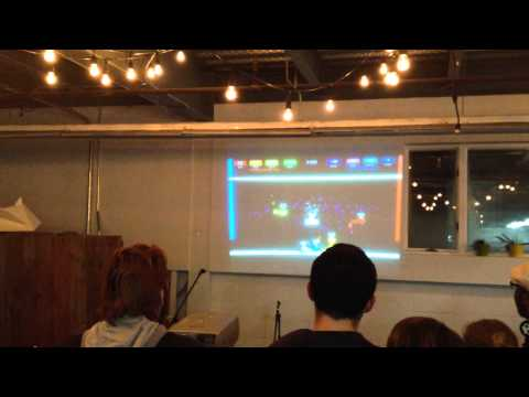 Octoparty debuts at Pop-up Arcade and Indie Game Night - Part 2