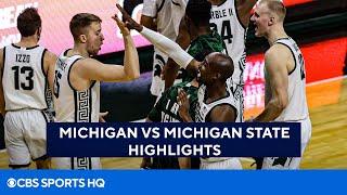 Michigan vs Michigan State Highlights & Recap   CBS Sports HQ