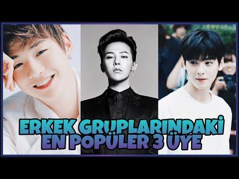 K-POP ERKEK GRUPLARINDAKİ EN POPÜLER 3 ÜYE