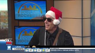 Tony Tripi performs Christmas Music on Good Day Rochester Part 2