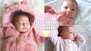 Solo Morning Routine With A Newborn | 5 Weeks Old♡