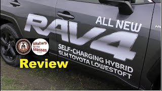 2019 Toyota RAV4 Hybrid UK Review