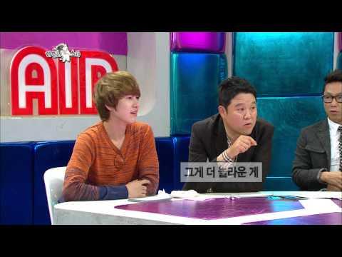 【TVPP】Taeyeon(SNSD) - Story about hijacked on stage, 태연(소녀시대) - 무대에서 광팬에게 납치될 뻔한 사연 @ Radio Star