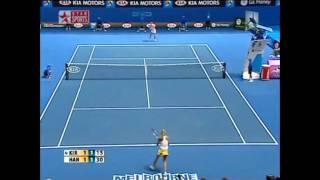 Daniela Hantuchova v Maria Kirilenko Australian Open Highlights