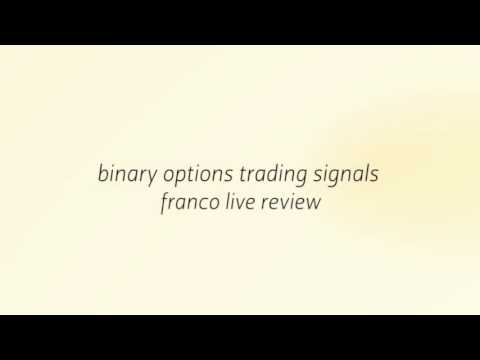 Binary options live signals scam