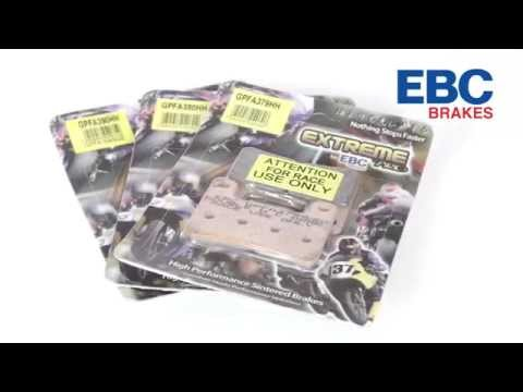 EBC Brakes EPFA & GPFAX Sintered Brake Pads