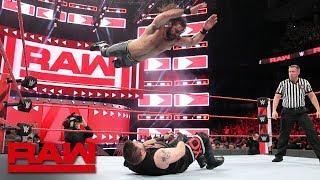 Seth Rollins vs. Kevin Owens - Intercontinental Championship Match: Raw, Aug. 27, 2018
