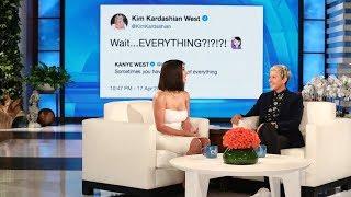 Kim Kardashian on Kanye West's Return to Twitter