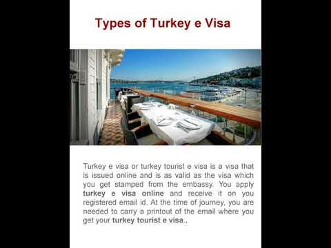 turkey e visa