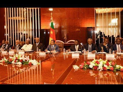 Conseil Ministériel présidé par S.E. Paul BIYA le 15 mars 2018