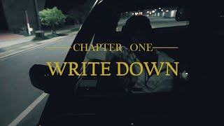 "EyeballRay -""Write Down""(Official Music Video)"
