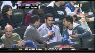 Covino & Rich at Mets Game on SNY