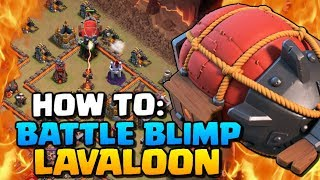 How to Battle Blimp Sui LavaLoon | Town Hall 10 Attack Strategy | Clash of Clans