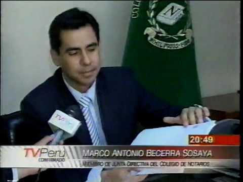 MacroSeguridad.org - Colegio de Notarios de Lima