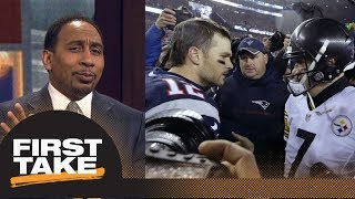 Stephen A. Smith makes bold prediction for Patriots vs. Steelers   First Take   ESPN
