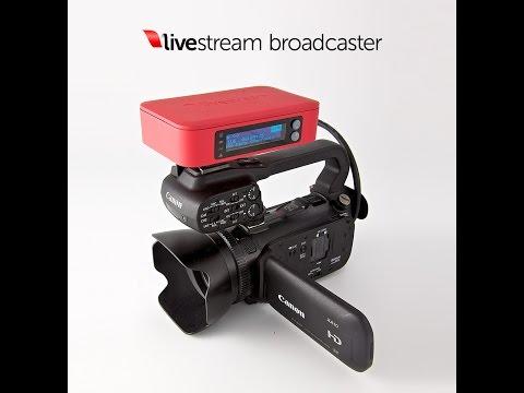 Livestream Rental Blackmagic Encoder Setup