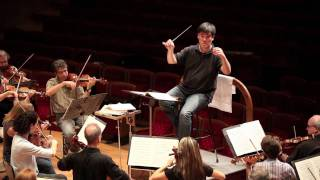Alan Gilbert Rehearses the New York Philharmonic
