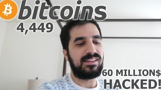 NiceHash The Mining Service Got Hacked And Lost 4,450 Bitcoins Worth 60 Million Dollars