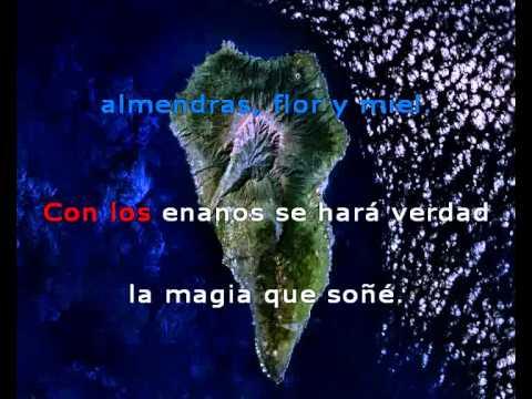 Taburiente & Fabiola Socas - Siete Sobre el mismo mar - Versión VideoLyric