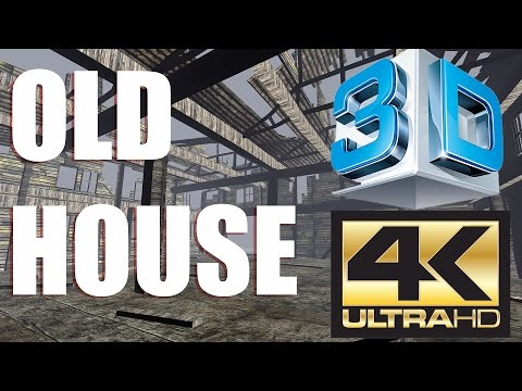 Old House 4K-3D (3D Element)