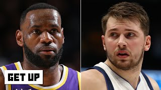 The original is always better than the duplicate - Jalen Rose on LeBron vs. Luka Doncic | Get Up