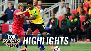 90 in 90: United States vs. Jamaica | 2019 International Friendly Highlights
