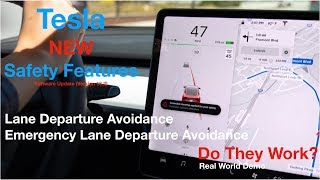 Tesla Safety Features | Lane Departure Avoidance | Do They Work?