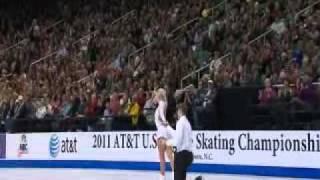 2011 U S  Championships John Coughlin and Caitlin Yankowskas Free Skate