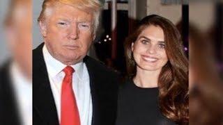 Trump Calls Aide Hope Hicks