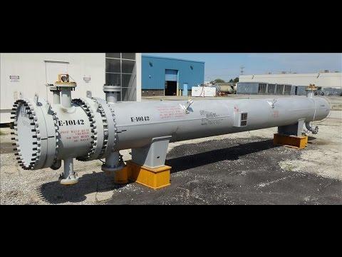 Unused- Ilsung Corporation 4 Pass U Tube Shell & Tube Heat Exchanger - stock # 48291011