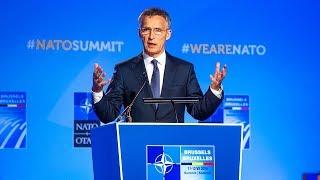 NATO Secretary General press conference at NATO Summit Brussels, 12 JUL 2018