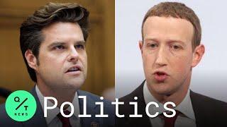 Gaetz Grills Zuckerberg Over Facebook's Conservative Bias