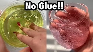 How To Make No Glue Slime Outta Weird Object's!!