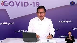 Perkembangan Penanganan COVID-19 dan Tanya Jawab Media oleh Prof. Wiku Adisasmito