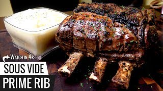 World's Easiest PRIME RIB! Sous Vide Guarantees Results